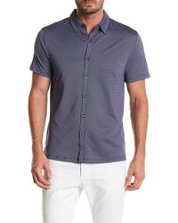 Robert Barakett - Braden Short Sleeve Sport Shirt - Lyst