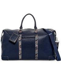 Robert Graham - Sixtino Leather Trim Weekend Bag - Lyst