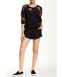 Romeo and Juliet Couture - Pleated Short - Lyst