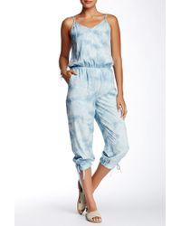 Marrakech - Tie-dye Washed Jumpsuit - Lyst