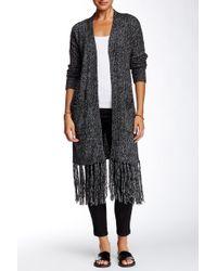 Marrakech - Solid Fringe Trim Sweater - Lyst
