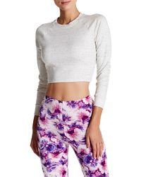American Apparel - Raglan Crop Sweater - Lyst