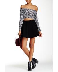American Apparel - Natural Denim Circle Skirt - Lyst