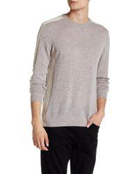 Autumn Cashmere - Purl Cashmere Colorblock Sweater - Lyst
