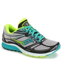 Saucony Guide 9 Running Shoe - Narrow Width - Green