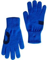Y-3 Chunky Gloves - Blue