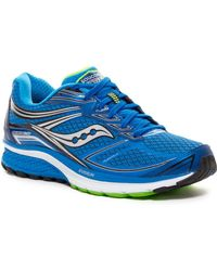 Saucony Guide 9 Running Shoe - Blue