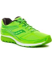 Saucony Guide 9 Running Shoe - Green
