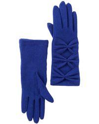 Vincent Pradier - Beaded Bow Gloves - Lyst