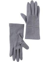 Vincent Pradier Bling Gloves - Gray