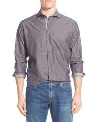 Singer + Sargent - Regular Fit Long Sleeve Sport Shirt - Lyst