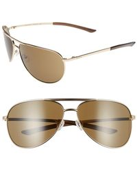 Smith Optics - Women's Serpico 66mm Aviator Sunglasses - Lyst