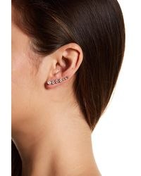 Melinda Maria - Julie Ear Climber & Stud Earrings Set - Lyst