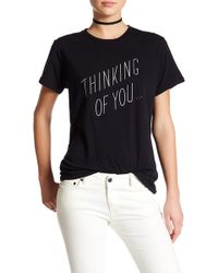 Sincerely Jules - Thinking Of You Tee - Lyst