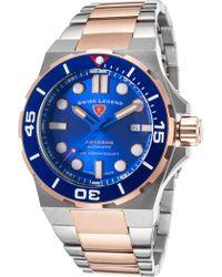 Swiss Legend - Men's Abyssos Automatic Sport Bracelet Watch - Lyst