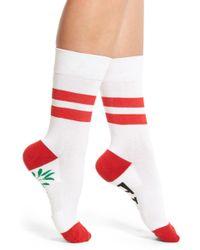 Sockart - 'kiss Me' Socks - Lyst