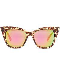 Steve Madden - Women's Extreme Cat Eye Sunglasses - Lyst