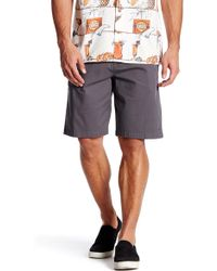 Jack O'neill - Flagship Regular Fit Flat Front Chino Short - Lyst