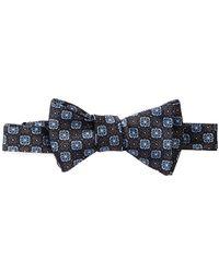 David Donahue - Loose Self Tie Silk Bow Tie - Lyst