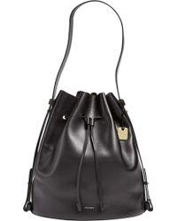 Skagen | Large Amberline Leather Bucket Bag | Lyst