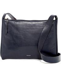Skagen - Anesa Leather Crossbody - Lyst