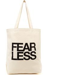 Dogeared - Fear Less Tote - Lyst