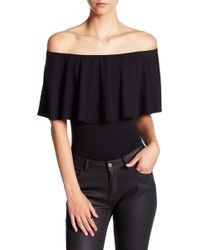 Soprano - Off-the-shoulder Bodysuit - Lyst