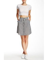 Jolt - Button-down Skirt (juniors) - Lyst