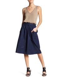 Thacker NYC | Valerie Midi Skirt | Lyst
