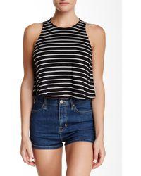 Mimi Chica - Stripe Knit Tank - Lyst