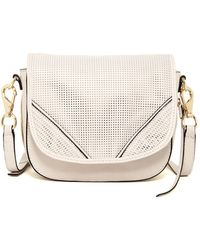 She + Lo - Silver Linings Saddle Crossbody - Lyst