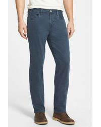 Tommy Bahama Twill Smith Brushed Relaxed Fit Jean - Blue