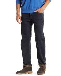 Tommy Bahama Denim Coastal Island Standard Fit Straight Leg Jean - Black