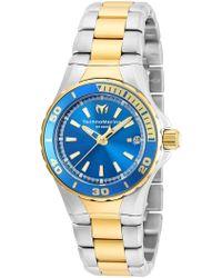 TechnoMarine - Women's Sea Manta Two-tone Bracelet Watch - Lyst
