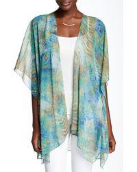 Sienna Rose | Sheer Printed Kimono | Lyst