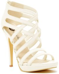 Michael Antonio - Thorstein High Heel Sandal Strappy High Heel Sandal - Lyst