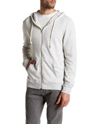 Threads For Thought - Speckled Heather Knit Zip Hoodie - Lyst