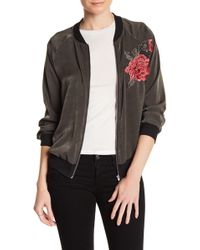 West Kei - Embroidered Bomber - Lyst