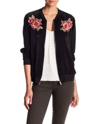 West Kei - Embroidered Bomber Jacket - Lyst