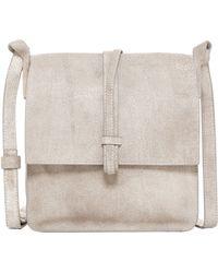 Cynthia Vincent - Deliz Leather Flap Messenger Bag - Lyst