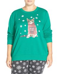 Cozy Zoe - Holiday Sweatshirt (plus Size) - Lyst