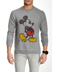 Junk Food | Mickey Mouse Pullover | Lyst