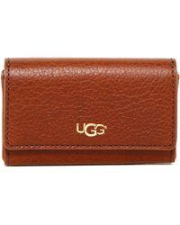 UGG Sera Leather Card Case - Brown