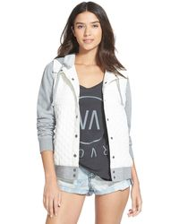 RVCA - Regulate Quilted Jacket - Lyst