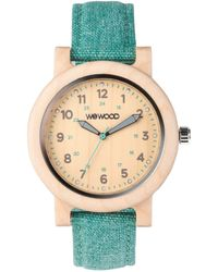 WeWood - Dehna Beige/cyan Women's Wood Watch - Lyst