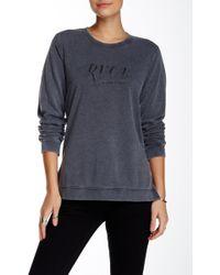 RVCA - Cori Script Pullover - Lyst
