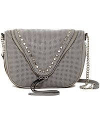 She + Lo - Make Your Mark Zip Leather Crossbody - Lyst