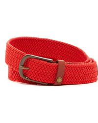 Ted Baker - Braided Leather Belt - Lyst