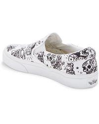 Vans Classic U-color Slip-on Sneaker - White
