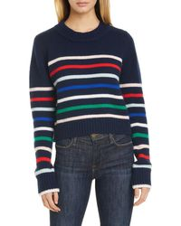 La Ligne Mini Maren Wool & Cashmere Sweater - Blue